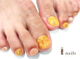 ぷっくりお花foot