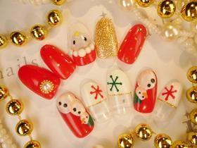 クリスマスネイルキャンペーン2