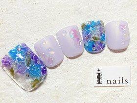 紫陽花水滴フット 【担当】小林