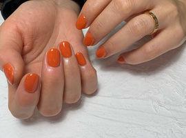 オレンジネイル/ Hiroko.K
