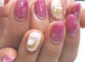 ピンク×雪の結晶 ¥8980