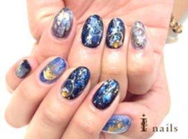 琉球蛍石ネイル