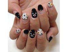 ハロウィン猫ネイル♪