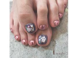 【FOOT】桜ニュアンスネイル