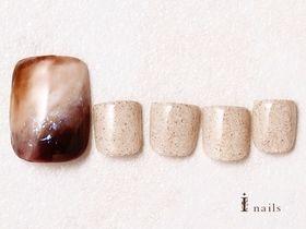 天然石フットネイル 【担当】根本
