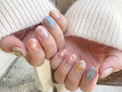 スプリングcollection オーロラちゅるんネイル 【担当】kana.y
